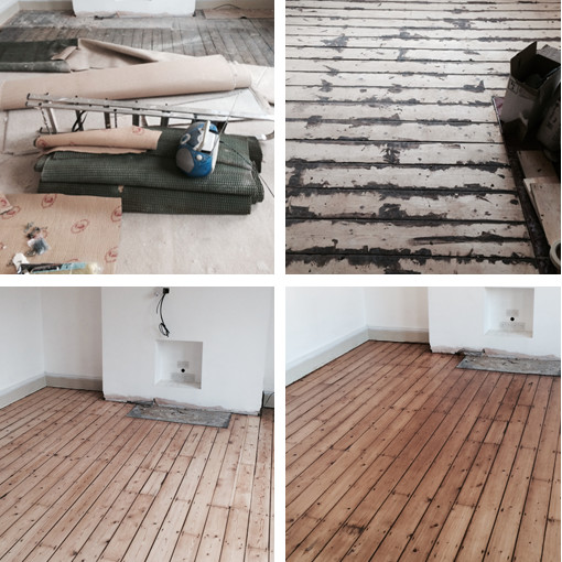 Floor sanding Newcastle and North East England
